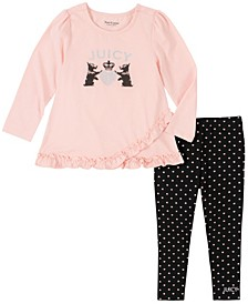 Toddler Girls Tunic and Legging Set