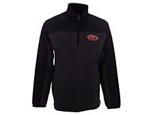 Men's San Francisco 49ers Quarter-Zip Fleece Jacket