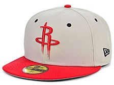 Houston Rockets Stone 2 Tone 59FIFTY Cap