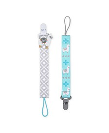 Pacifier Tether Llama Clip, Set of 2
