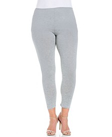 Women's Plus Size Comfortable Ankle Length Leggings