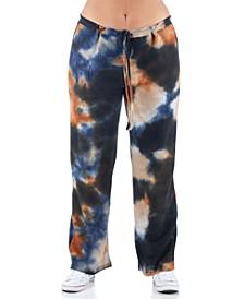 Women's Plus Size Tie Dye Lounge Pants