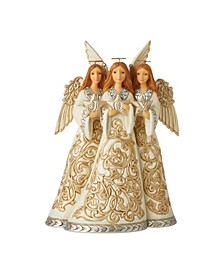 Enesco Holiday Lustre Trio Of Angels