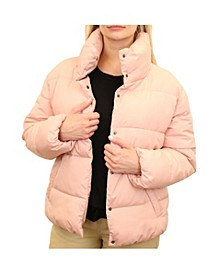 Women's Wide Quilted Puffer Jacket