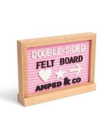 Double-Sided Felt Letterboard or Whiteboard