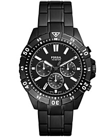 Men's Garrett Black Bracelet Watch 44mm