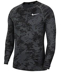 Men's Pro Long-Sleeve Camo Shirt