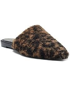 Women's Vameera Faux-Shearling Slippers