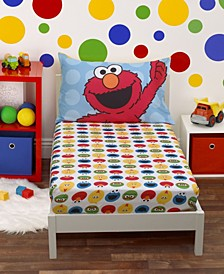 Toddler Boy's Sheet Set with Fitted Crib Sheet and Pillowcase, 2 Piece