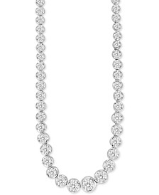 "Diamond 18"" Collar Necklace (2 ct. t.w.) in 14k White Gold"