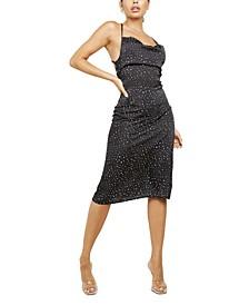 Lace-Up-Back Dress