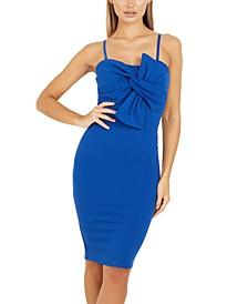 Front-Twist Bodycon Dress