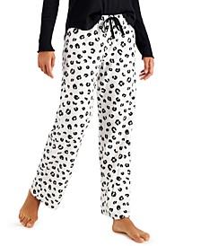 Printed Cozy Fleece Pajama Pants, Created for Macy's