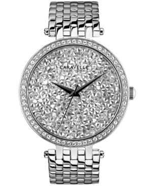 Caravelle New York by Bulova Women's Stainless Steel Bracelet Watch 38mm 43L160