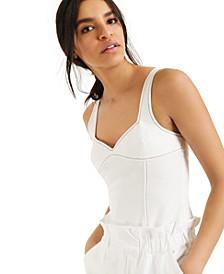 CULPOS X INC Jean Bodysuit, Created for Macy's