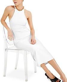 CULPOS X INC Ribbed Halter Dress, Created for Macy's
