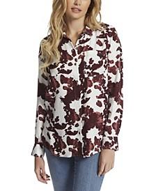 Women's Petunia Button Up Shirt