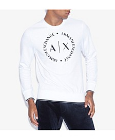 Men's Circular Logo Sweater