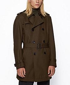 BOSS Men's Dan6 Regular-Fit Trench Coat