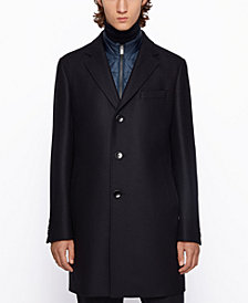 BOSS Men's Nadim4 Slim-Fit Coat