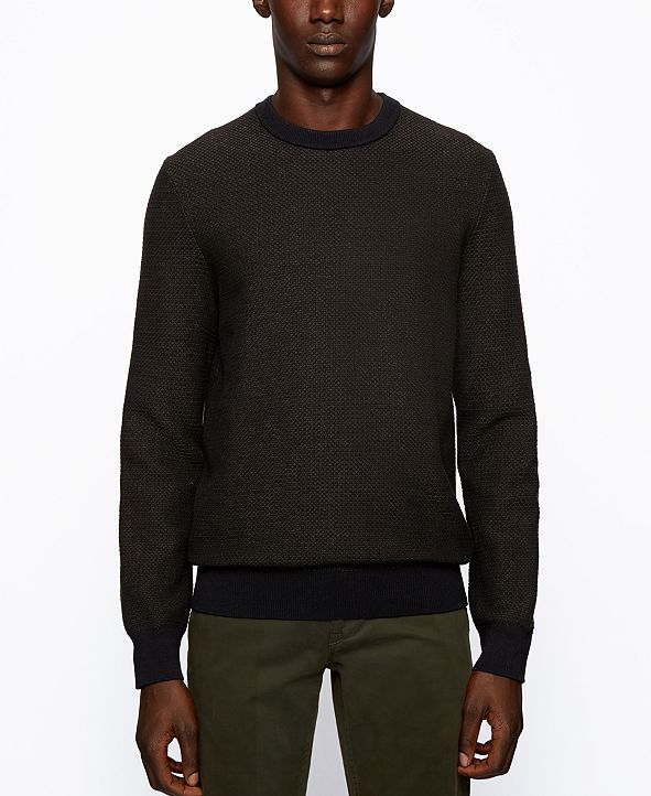Hugo Boss BOSS Men's Arubyno Regular-Fit Sweater