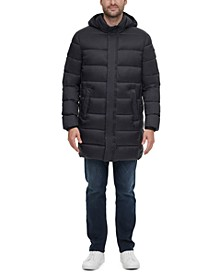 Men's Long Hooded Puffer Jacket