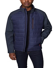Men's Mixed Media Softshell Jacket