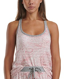 Printed Loungewear Tank Top