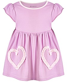 Toddler Girls Cotton Ruched Heart Tunic, Created for Macy's