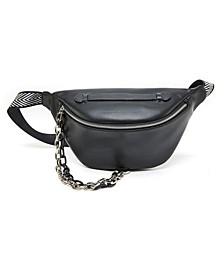 Harley Chain Embellished Belt Bag