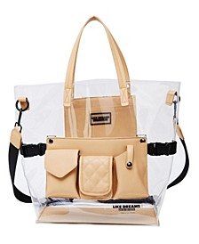 Clear Retro Tote Bag