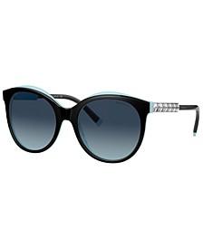 Polarized Sunglasses, TF4175B 55
