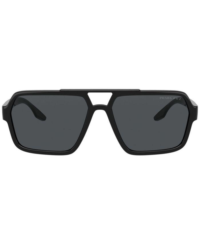 Prada Linea Rossa Sunglasses, PS 01XS 59 & Reviews - Sunglasses by Sunglass Hut - Men - Macy's