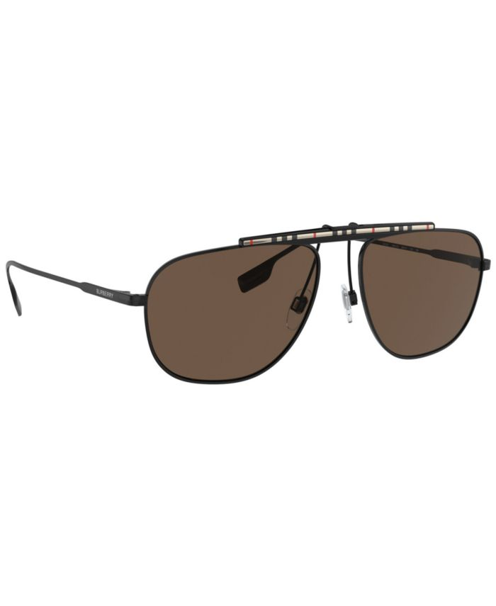 Burberry Dean Sunglasses, BE3121 59  & Reviews - Sunglasses by Sunglass Hut - Men - Macy's