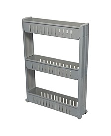 3 Tier Slim Slide Out Storage Cart