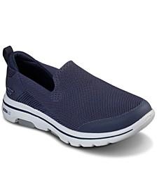 Men's GOwalk 5 - Prized Slip-On Walking Sneakers from Finish Line