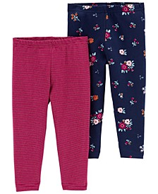Baby Girl 2-Pack Leggings