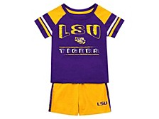 Baby LSU Tigers Grand Poobah Cotton Set