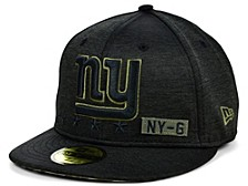 New York Giants 2020 On-field Salute To Service 59FIFTY Cap