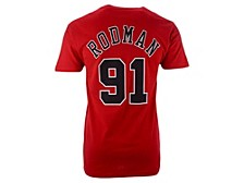 Dennis Rodman Chicago Bulls Men's Hardwood Print Player T-Shirt