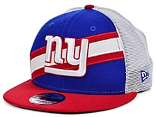 New York Giants Diagonal Trucker 9FIFTY Cap