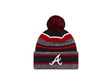 Atlanta Braves Striped Marled Knit