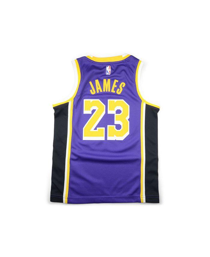 Jordan Los Angeles Lakers Youth Statement Swingman 2 Jersey ...