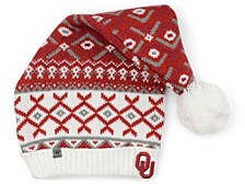 Oklahoma Sooners Festis Slouch Pom Knit Hat