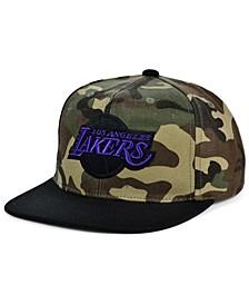 Los Angeles Lakers Natural Camo Snapback Cap