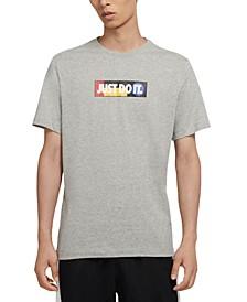 Men's Just Do It Bumper Sticker T-Shirt