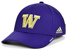 Washington Huskies Sideline Coaches' Flex Cap