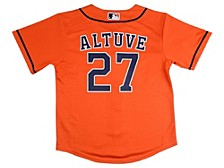 Houston Astros Jose Altuve Baby Official Player Jersey