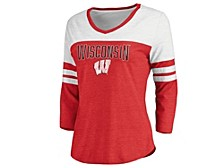 Wisconsin Badgers Women's True Classics Raglan Shirt