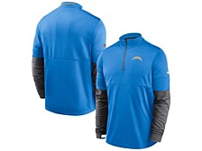 Los Angeles Chargers Men's Sideline Half Zip Therma Top
